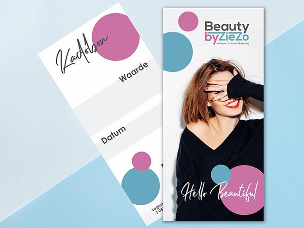 Nieuw! Kadobonnen van Beauty by Ziezo